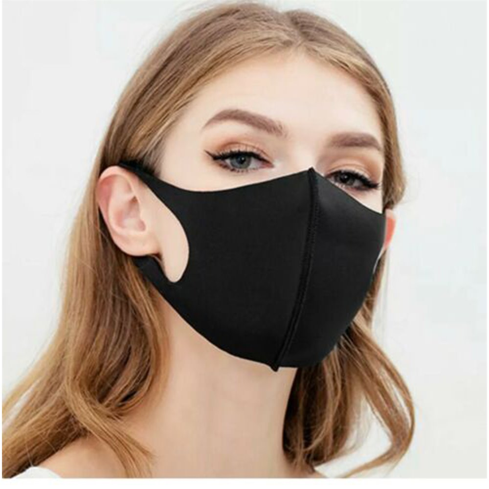 100-Pack Washable Protective Face Mask Filtration