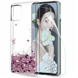 Samsung Galaxy S20 - Moving Glitter 3D Bling Phone Case