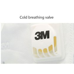3x 3M 9502V Plus Respirator Protective Face Mask KN95 FFP2 Headloop