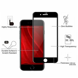 iPhone 7/8/SE (2020) - Tempered Glass Screen Protector Protection