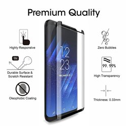 Samsung Galaxy S8 - Tempered Glass Screen Protector Protection