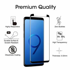 Samsung Galaxy S9 - Tempered Glass Screen Protector Protection