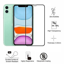 iPhone 11 - Tempered Glass Screen Protector Protection