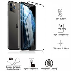 iPhone 11 Pro Max - Tempered Glass Screen Protector Protection