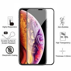 iPhone Xs Max - Tempered Glass Screen Protector Protection