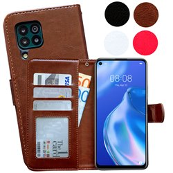 Huawei P40 Lite - PU Leather Wallet Case