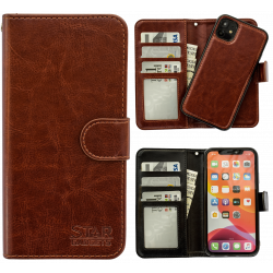 iPhone 11 - PU Leather Wallet Case
