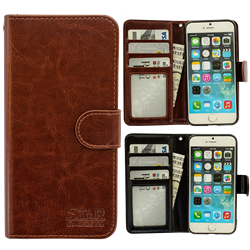 iPhone 7 - PU Leather Wallet Case