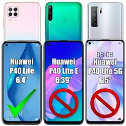 2 Pack Huawei P40 Lite - Tempered Glass Screen Protection
