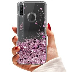 Huawei P30 Lite - Moving Glitter 3D Bling Phone Case