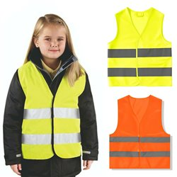 Kid XS Reflective Vest Safety with REFLECTIVE Strips