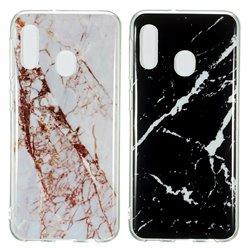 Samsung Galaxy A20e - Case Protection Marble