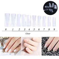 500pcs Stylish Nail Art Tips Manicure False Nail Tips for Women