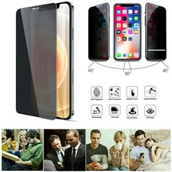 iPhone 12 Pro - Privacy Tempered Glass Screen Protector Protection