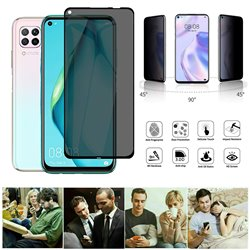 Huawei P40 Lite - Privacy Tempered Glass Screen Protector Protection