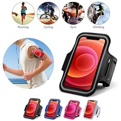 iPhone 12 Pro Max - PU Leather Sport Arm Band Case