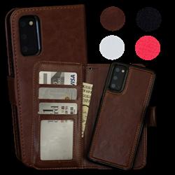 Samsung Galaxy S20 - PU Leather Wallet Case