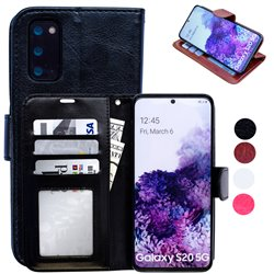 Samsung Galaxy S20 - PU Leather Wallet Case