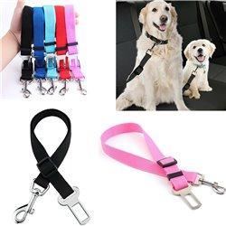 SEATBELT LEASH Dog Pet Car Safety Belt Harness Collar