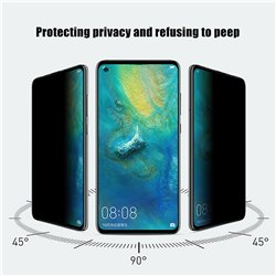 Samsung Galaxy A21s - Privacy Tempered Glass Screen Protector Protection