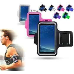 Samsung Galaxy S21 Plus - PU Leather Sport Arm Band Case