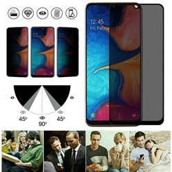 Samsung Galaxy A20e - Privacy Tempered Glass Screen Protector Protection
