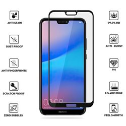 Huawei P20 Lite - Tempered Glass Screen Protector Protection
