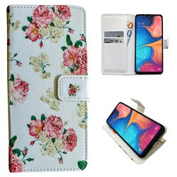 Samsung Galaxy A20e - PU Leather Wallet Case