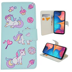 Samsung Galaxy A20e - PU Leather Wallet Case/Wallet