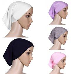 Full Cover Inner Hijab Cap Islamic Underscarf Neck Head