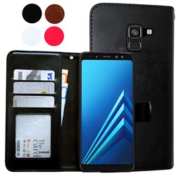 Samsung Galaxy A8 2018 - PU Leather Wallet Case/Wallet