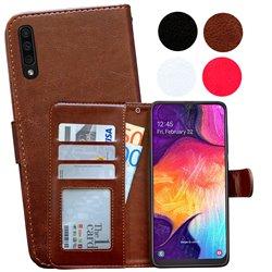 Samsung Galaxy A50 - PU Leather Wallet Case