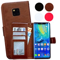 Huawei Mate 20 Pro - PU Leather Wallet Case