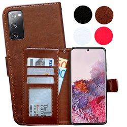 Samsung Galaxy S20 FE - PU Leather Wallet Case