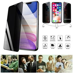 iPhone 11 - Privacy Tempered Glass Screen Protector Protection