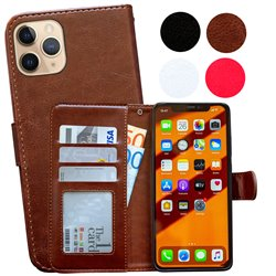 iPhone 11 Pro Max - PU Leather Wallet Case