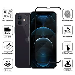 iPhone 12 - Tempered Glass Screen Protector Protection