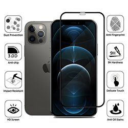 iPhone 12 Pro Max - Tempered Glass Screen Protector Protection