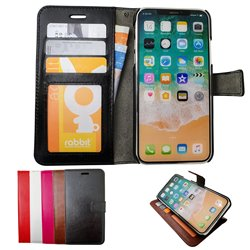 iPhone X/Xs - PU Leather Wallet Case