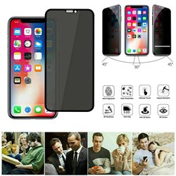 iPhone Xs Max - Privacy Tempered Glass Screen Protector Protection