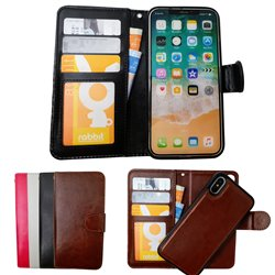 iPhone Xs Max - PU Leather Wallet Case