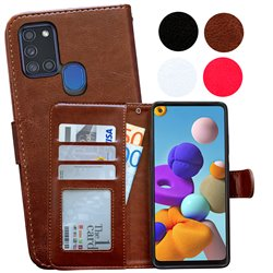 Samsung Galaxy A21s - PU Leather Wallet Case