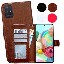 Samsung Galaxy A71 - PU Leather Wallet Case