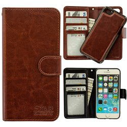 iPhone 7/8/SE (2020) - PU Leather Wallet Case