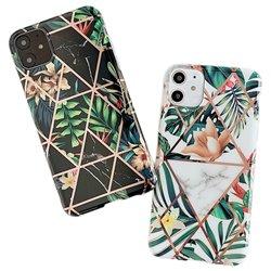 iPhone 12 - Geometric Flower Case