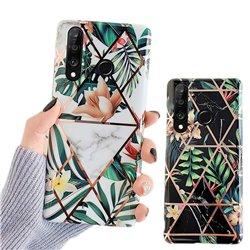 Huawei P30 Lite - Geometric Flower Case
