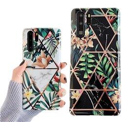 Huawei P30 Pro - Geometric Flower Case
