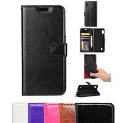 Samsung Galaxy A10 - PU Leather Wallet Case
