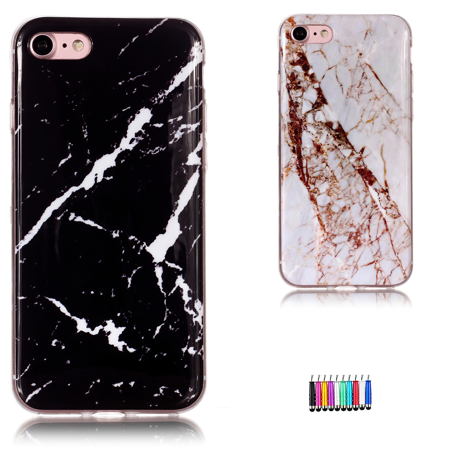 iPhone 7 - Case Protection Marble + Touch
