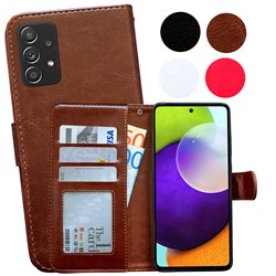 Samsung Galaxy A52/A52 5G - PU Leather Wallet Case